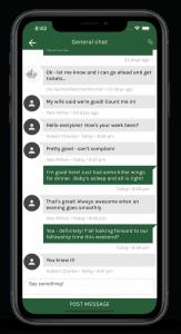 Group Chat in PocketPlatform
